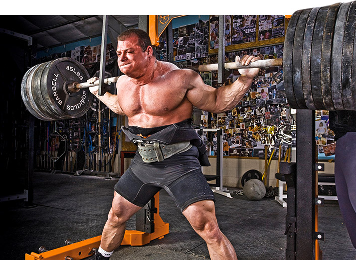 Powerlifter Says 'Chewing' Is Overrated